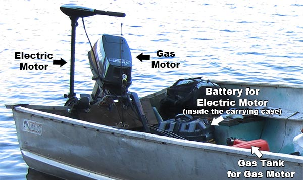 boat-motor-gas-electric